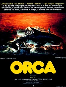 ORCA AFFICHE 1977
