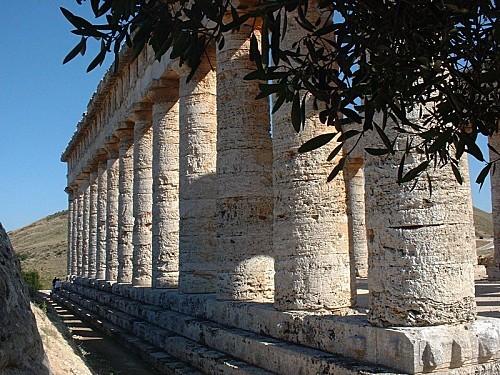 Segeste - Le temple 1