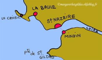 Le bac de Mindin à Saint-Nazaire