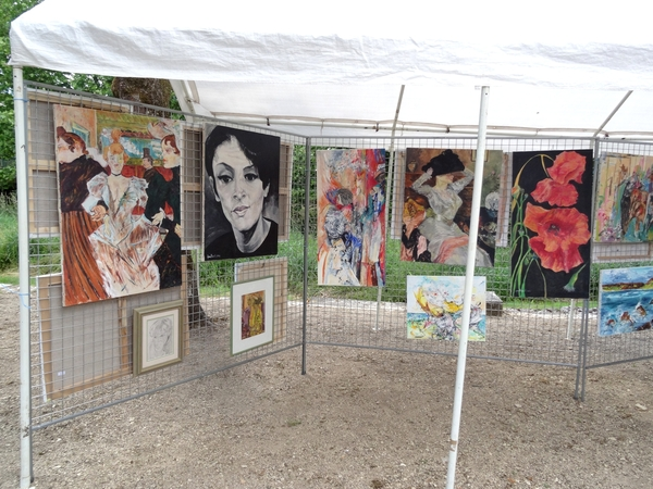 """""""Passion Peinture"""" 2014  à Brion sur Ource"""