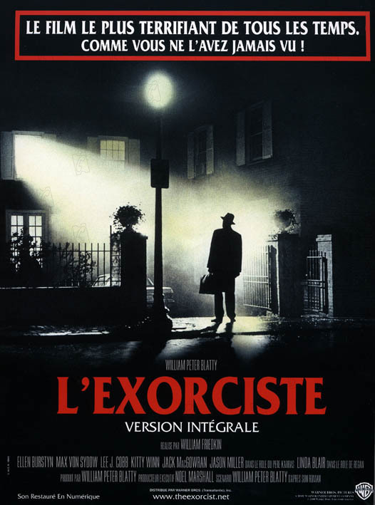 L'Exorciste : affiche William Friedkin