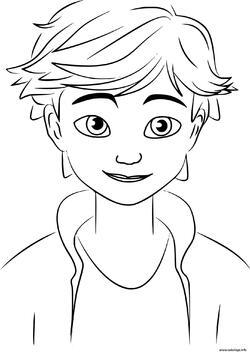 Coloriages Adrien