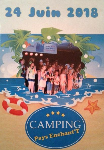"""Le DVD de la comédie musicale 2018 """"Camping Pays Enchant""""T"""" est disponible !"""