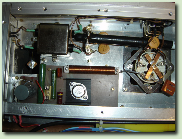 Amplificateur linéaire avec une YC-257 de F6CKE