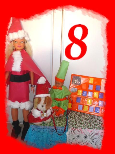 8ème jour du calendrier de l'Avent des poupées