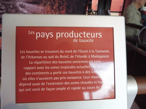 Suite de la visite du musée des gueules rouges.