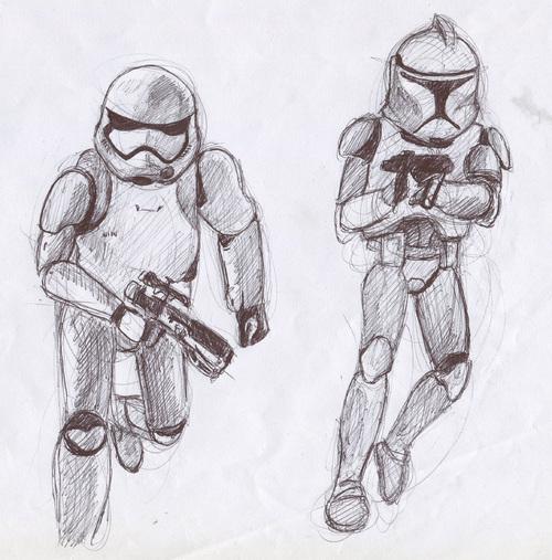 Droïdes et Stormtrooper