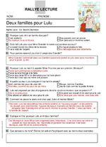 Incos 2016: CM2-6ème - Deux familles pour Lulu