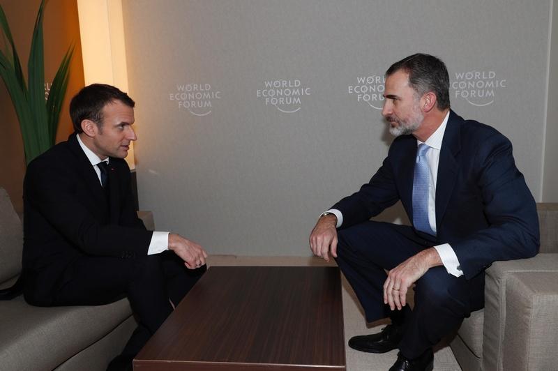 Macron et les royautés