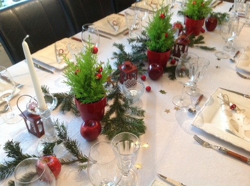 Table de Noël 2014
