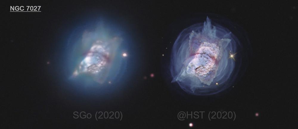 NGC 7027, la nebuleuse de l'oreiller