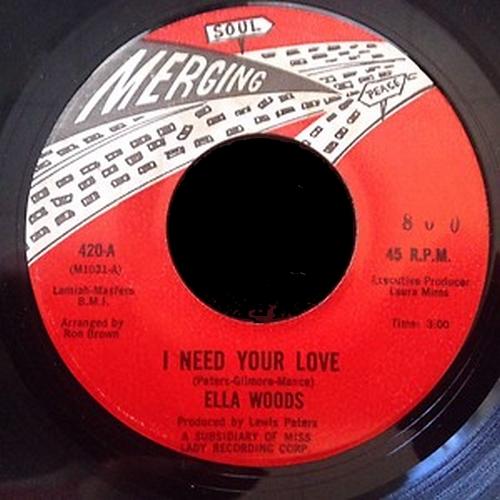 Ella Woods : I Need Your Love