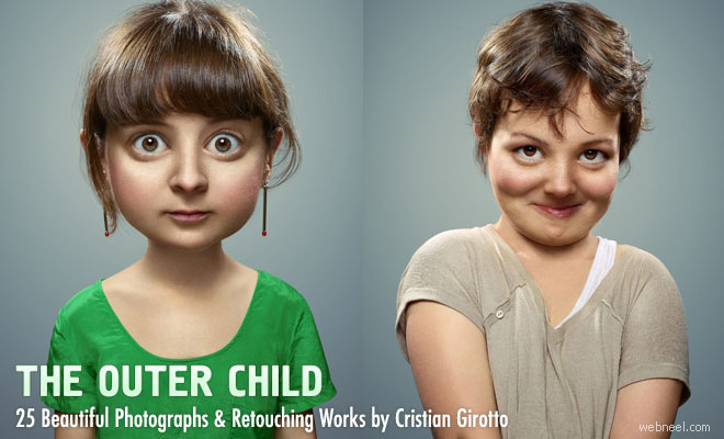The Outer Child - 25 Creative Photo manipulation and Retouching works by Cristian Girotto