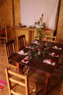 Notre belle table de Noël