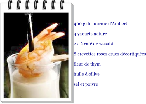 Smoothie de fourme d'ambert
