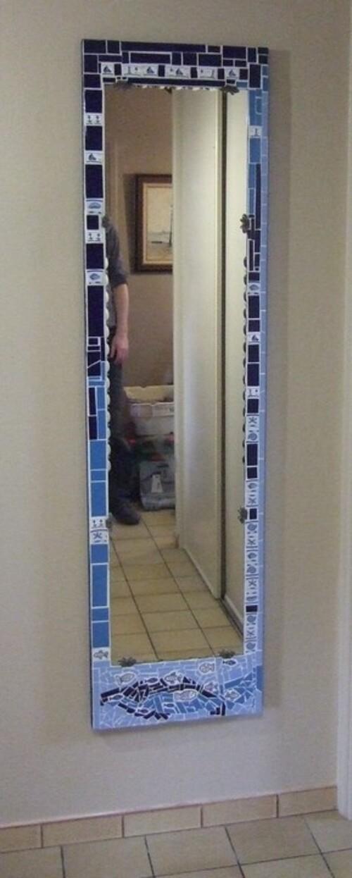 Porte d'armoire transformée