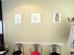 Wartezimmer der Physiotherapiepraxis Trent