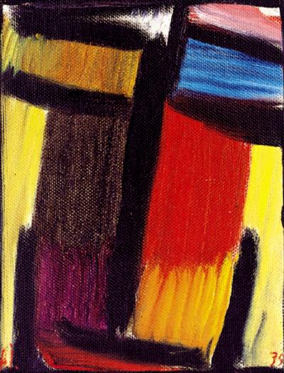 Jawlensky, Méditation, 1935