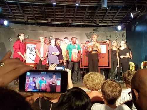Première représentation des Ventres perdus : félicitations !!!