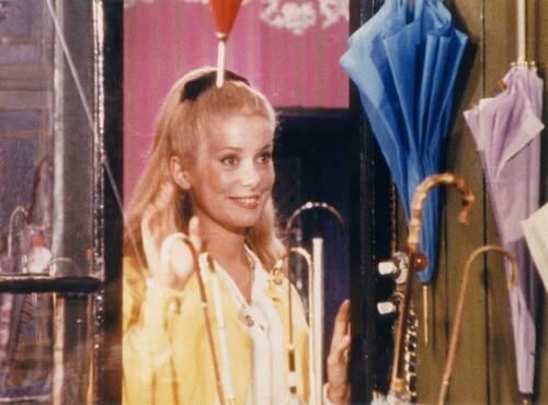 Au cinéma, les parapluies