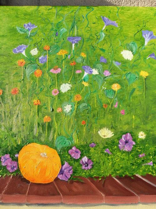 peinture récente