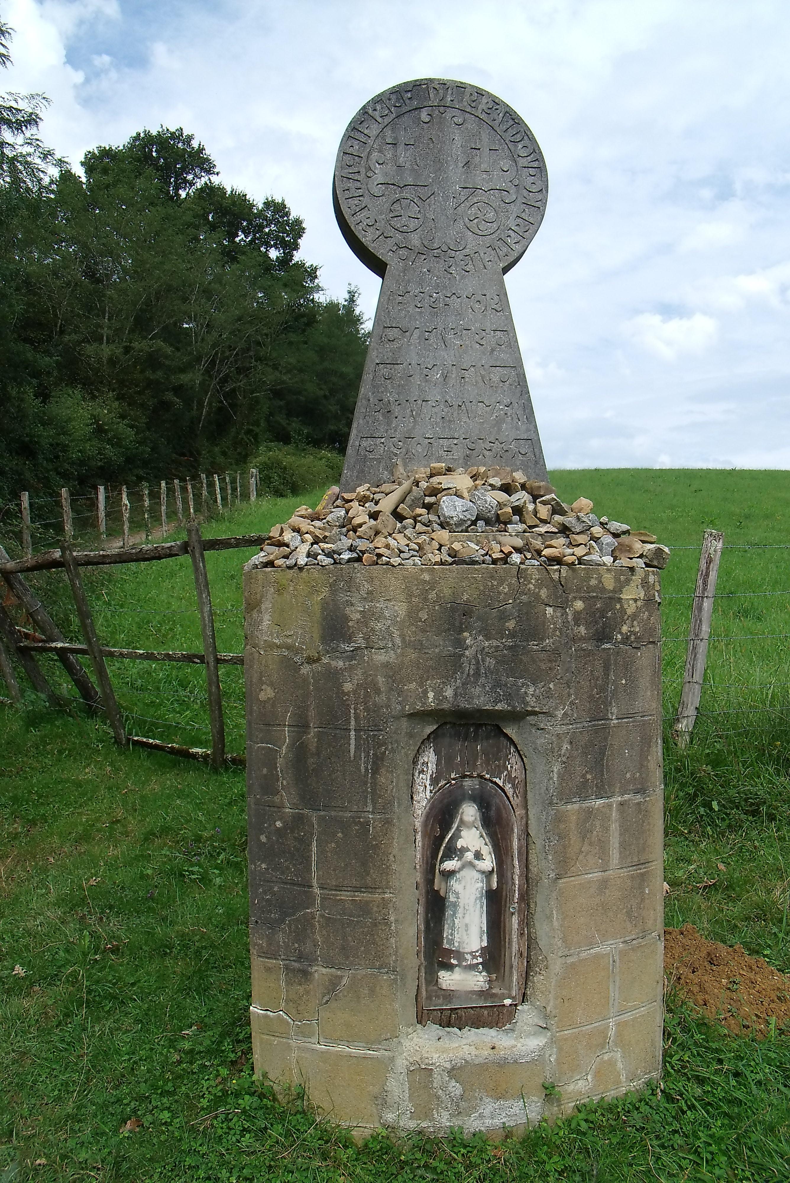 La via Po nsis de Moissac  St Jean Pied de Port farlak
