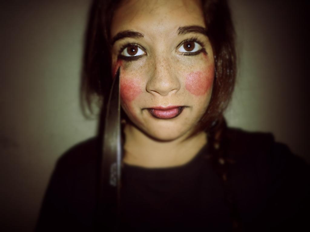Maquillage annabelle - Maquillage poupee halloween ...