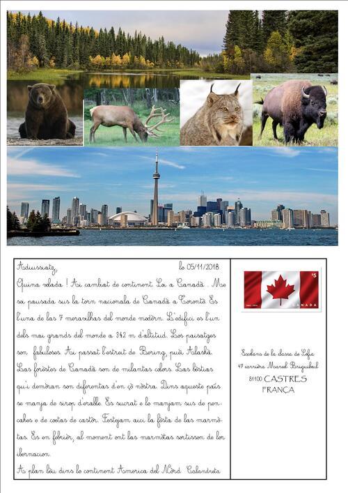 Letra de Calandreta de Canadà