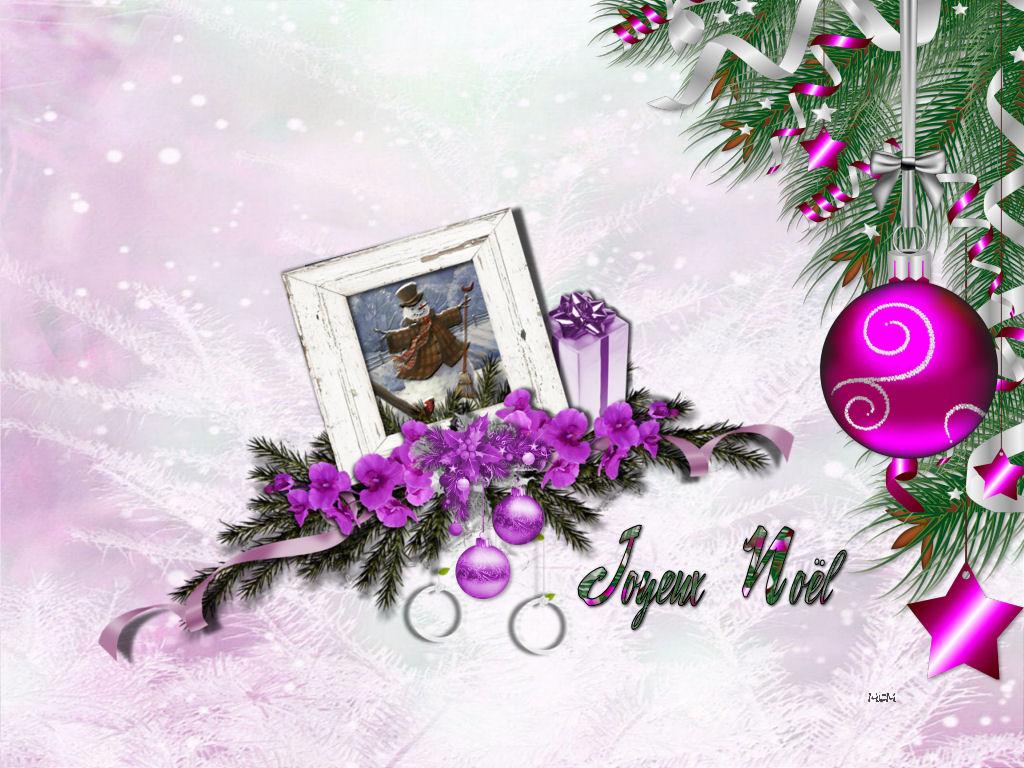 Fond D écran Joyeux Noël Mcreations