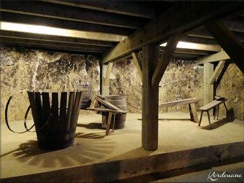 Photos des chais et vieux pressoirs - Château de Brézé