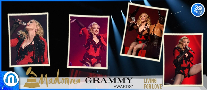 pack_pics - Madonna Grammy Awards Living For Love