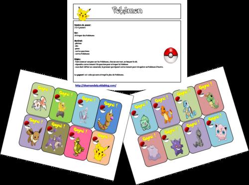 Jeu plateau: Pokémon