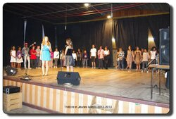 21 juin 2013, théâtre et jeunes talents
