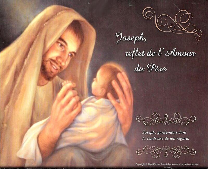 BONNE FETE DE SAINT JOSEPH ET BONNE FETE A TOI PAPA