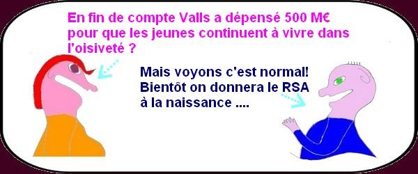 Manuel Valls peut faire chauffer la certe bleue , elle est différée!