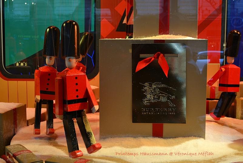 Les vitrines du Printemps Haussmann : Un monde féerique !