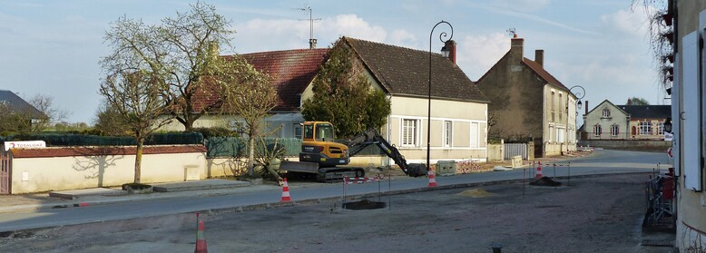 Travaux place (suite 2)