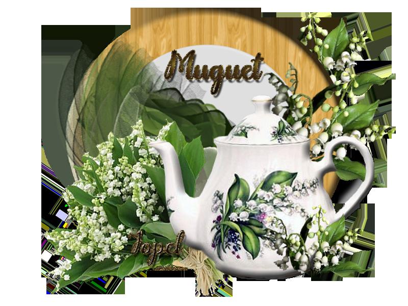 Défi Muguet 1 Mai deMonia par Jopel+ cadeaux