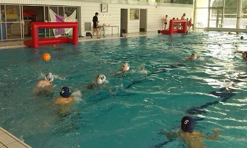 L'équipe benjamine vice-championne d'académie de Water-Polo!!!