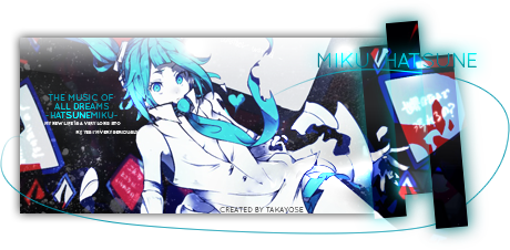 [Signature] Hatsune Miku | The music of all dreams