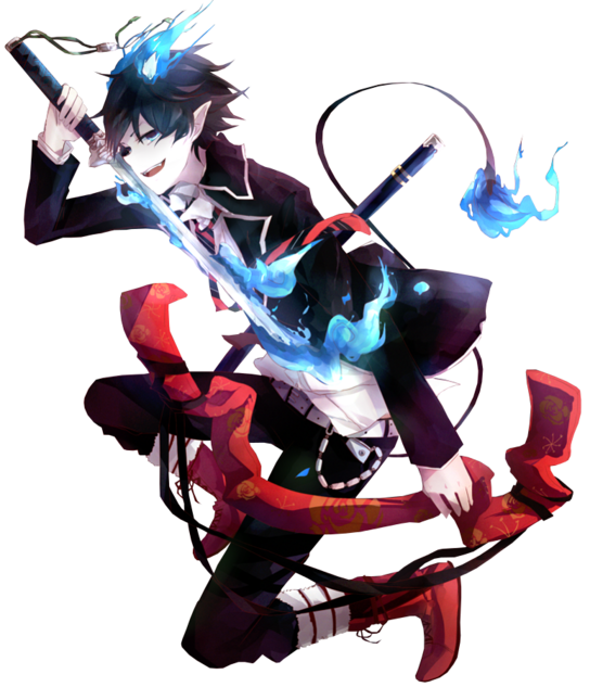 Render Ao no Exorcist - Renders Blue Exorcist Rin Okumura