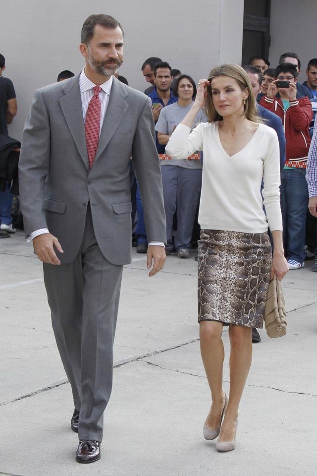 Felipe et Letizia et l'enseignement professionnel