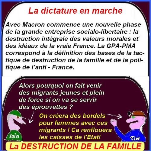 L'Islam en marche avec la bénédiction de Macron .
