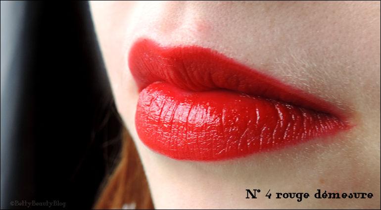 """Les rouges """"démesure"""" de Marionnaud"""