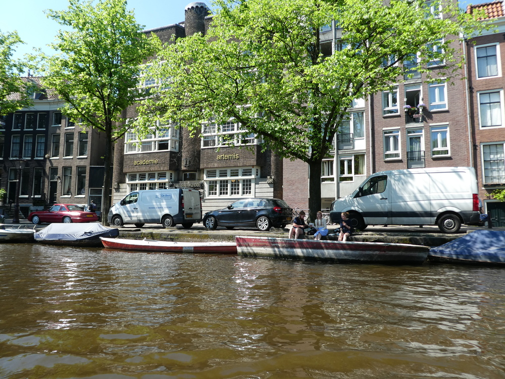 PAY BAS - AMSTERDAM LES CANAUX
