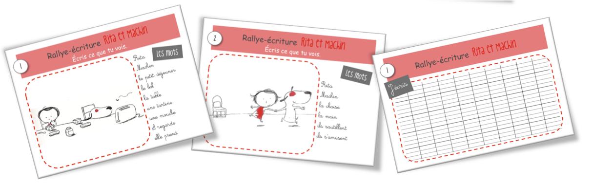 Rallye-écriture: Rita et Machin