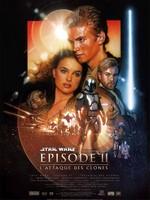 Star Wars II Attaque des clones affiche