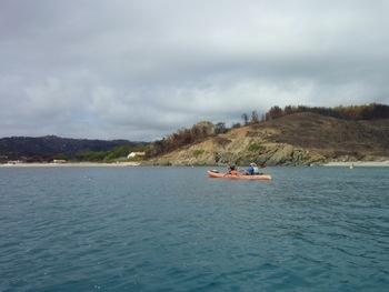Départ pour un petit tour dans la Baie de Briande