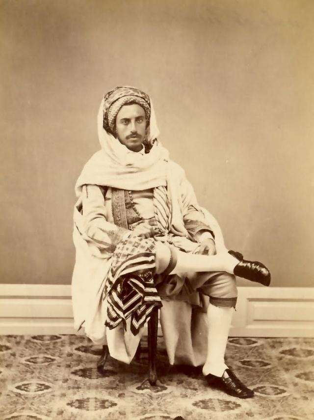 Habitant Bourgeois de Tunis 1900