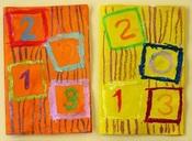 Carte de vœux et calendrier